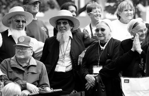 Amish at the Tulip Time Parade.
