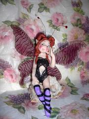 nuova Butterfly (mindi64) Tags: life butterfly handmade io fimo fantasy clay fate faery creature amici atmosfera creations magia cernit mercatini polyclay mercati artigianato artigianale fatine