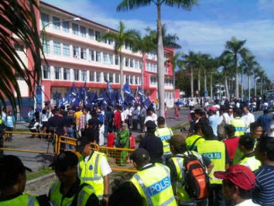 BN and police