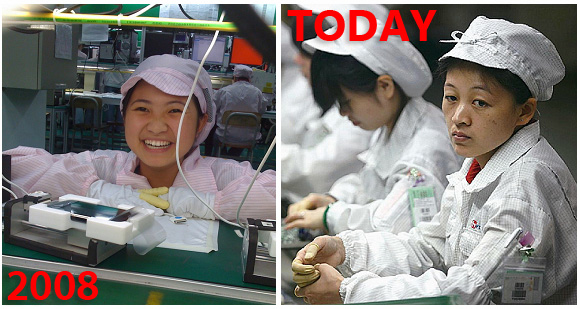 Foxconn 2008 and Today