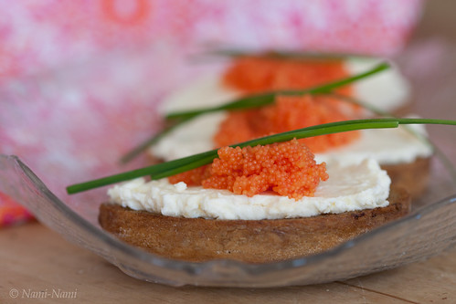 Crostini with Västerbotten cream