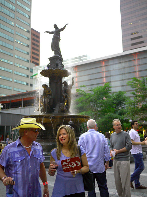 Fountain square