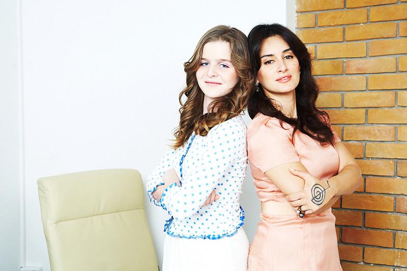 Тина Канделаки с дочерью Меланией для журнала «Домашний очаг»