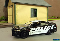 Ford Police Interceptor Demonstration Model Diecast