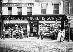 Abel Heywood & Son Bookshop, 1910 (archivesplus) Tags: manchester book books bookshop printers stationers bookstall oldhamstreet manchesterlocalimagecollection gb127 abelheywoodson