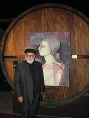 Las obras de Antonio Sarelli expuestas en Bodega Dante Robino