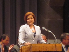 City Council Speaker Christine Quinn