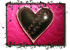 Pregadeira Black Heart (by ZIRIPITI)