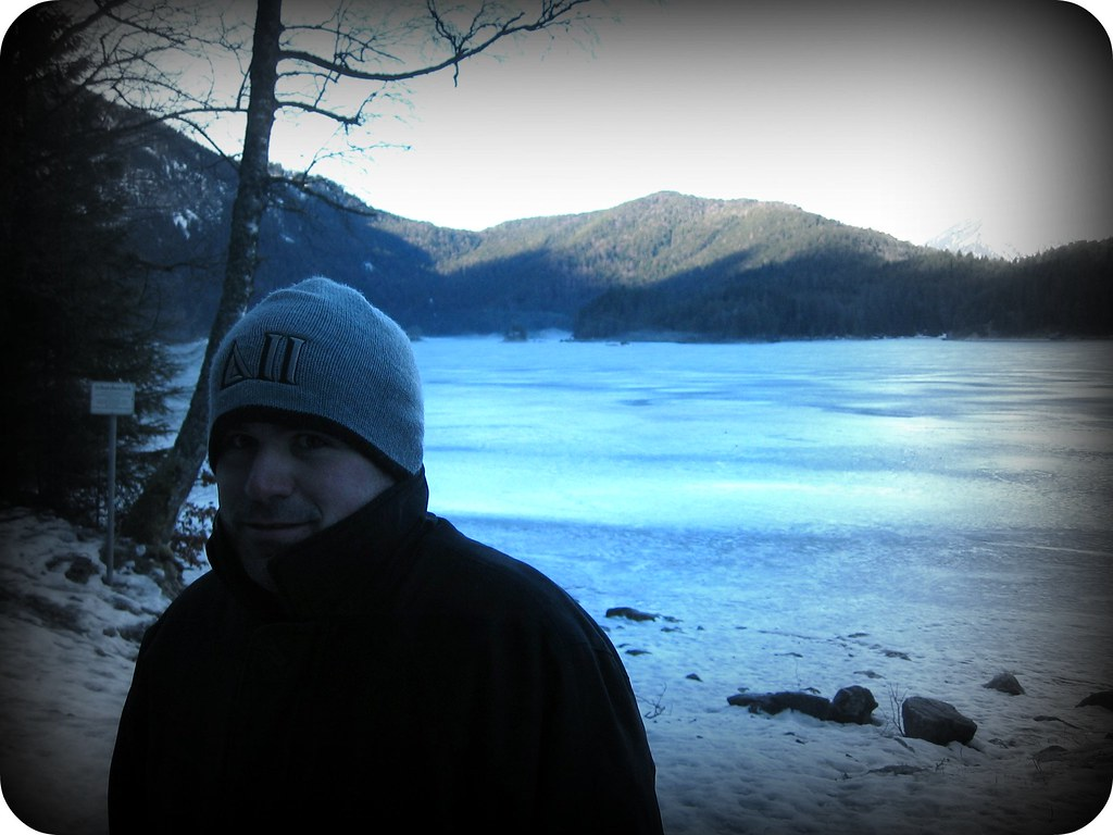 Walking around the Eibsee, Garmisch