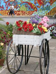 Fairhope: Flower Cart