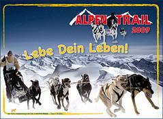 Dasffizielle Alpen-Trail Motto 2009
