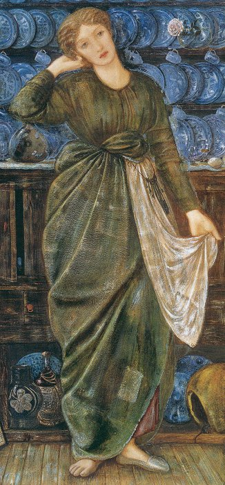 Burne-Jones, Cinderella, 1863