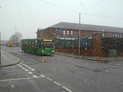 159 in snow (In memory of HMS Thetis (N25)) Tags: liverpool