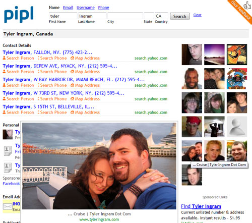 Pipl.com Find People