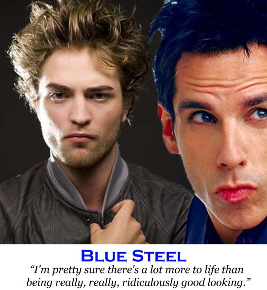 robert pattinson does blue sleet