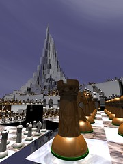 Lone Peak (fdecomite) Tags: circle spiral packing chess math doyle chessboard povray