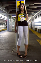 Track One. (Ryan Christopher VanWilliams - NYC) Tags: nyc newyorkcity urban sun sunlight ny newyork black sexy station fashion yellow brooklyn train one 1 newjersey arch dof williams bronx manhattan cigarette gorgeous soho broadway platform nj style depthoffield queens jamaica heels editorial mta tall blondie lirr staten leggings nuevayork blackwoman longislandrailroad blackwomen nyct track1 jamaicany vanwilliams rvw trackone nuevajersey urbanluxury ryanchristophervanwilliams rcvw ryanvanwilliams supthin supthinblvd fashionindustrynetwork ryanchrisophervanwilliams