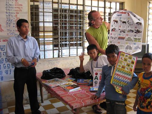 Leer het ABC in het Khmer