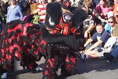 Black Lion (Tygriss) Tags: chinesenewyear liondance yearoftheox houstonshaolin