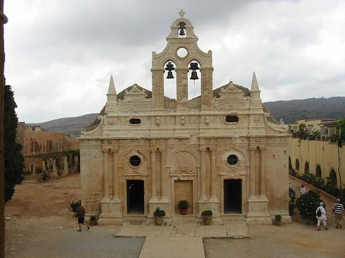 Oud klooster in de bergen