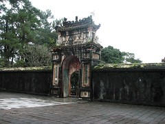 Gate to Tomb of King Tu Duc