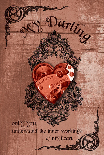 Free Steampunk Valentine