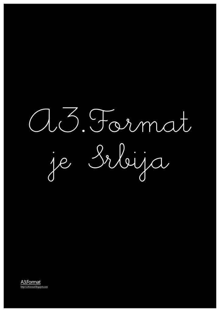 166 A3.Format je srbija By: Katarina Balažikova Lukić - Bratislava/Novi Sad