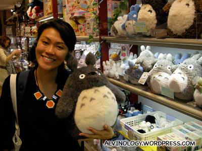 Rachel loves Totoro!