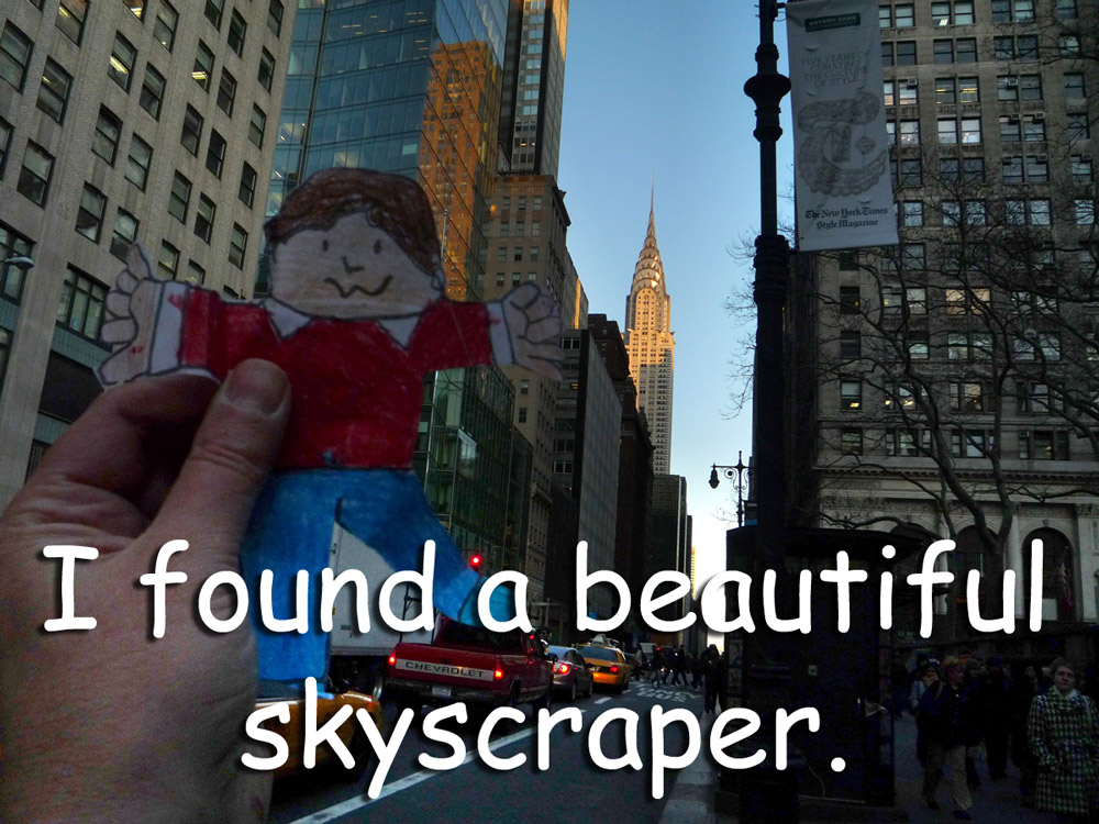 Stanley and the Chrysler Building