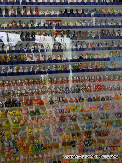 Plastic toy figurines