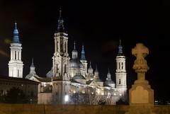 CRuZ De PieDRa (Luna De Cera) Tags: nocturna vergara basilicadelpilar nikond80 a3b lunadecera raquelserrano tff1 tff2 largaexpocicion