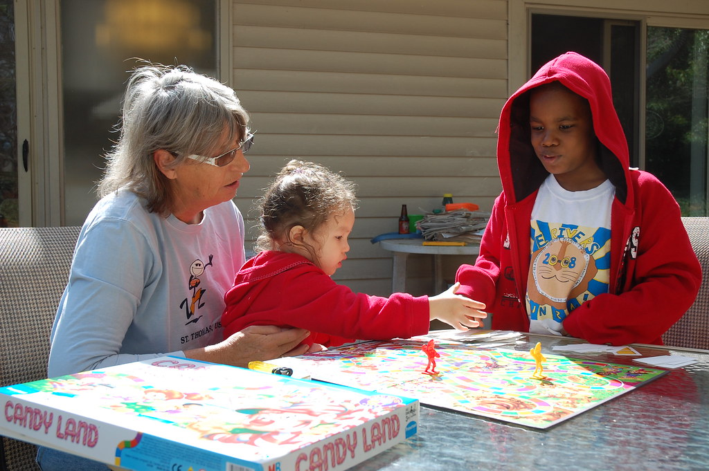 Playing Candyland