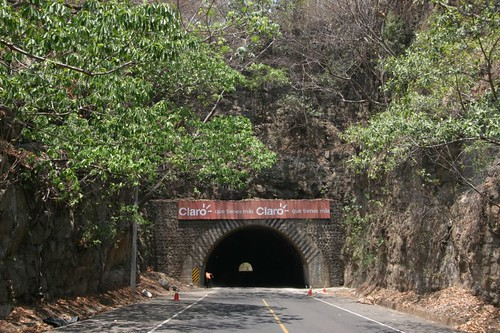 Túnel #1 out of 5 on today's cycling in southern El Salvador.