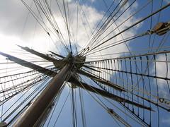 Mast (mrp1001) Tags: sky galveston sailboat spain sailing ship texas mast juansebastiandeelcano anglesanglesangles