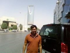 Kingdom Tower, Riyadh - March 09 (surajitkayal) Tags: landmark icon saudi arabia riyadh kayal tallest skyscrapper kingdomtower surajit webmagix surajitkayal