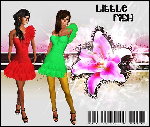 Little Fish Eva Fashion Dress