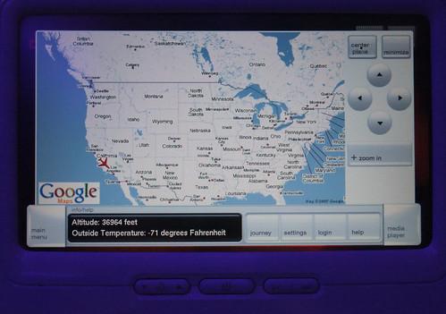 Blogging at 37,000 Feet