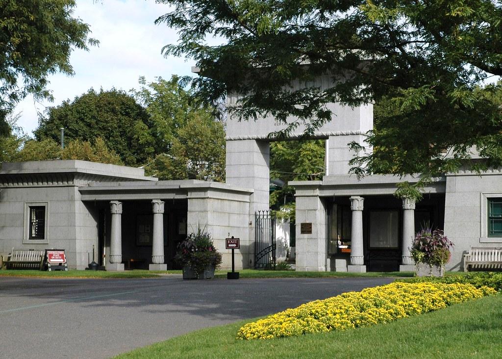 Mount Auburn Cemetery's Egyptian Revival Gateway
