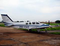 PR-CAZ - Beechcraft Baron G58 (marcelofaeferreira) Tags: brazil brasil plane de airplane fly aircraft aviation flight engine continental aeroporto americana brazilian avio beechcraft beech baron aviao voar g1000 58 vo voando g58 sdai americanasp bimotor prcaz