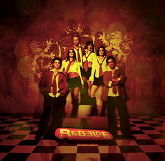 RBD -  Rebelde (2004) (Pedro Werts) Tags: banda soap opera foto graphic image group band grupo blend rbd novela rebelde telenovela