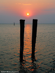 Tramonto (Teone!) Tags: venice sunset sea italy sun reflection island reflex italia tramonto mare lagoon laguna sole venezia soe breathtaking horizont isola riflesso orizzonte veneto supershot bricole pellestrina mywinners abigfave platinumphoto anawesomeshot infinestyle citrit overtheexcellence colourartaward theperfectphotographer goldstaraward worldwidelandscapes natureselegantshots abovealltherest breathtakinggoldaward breathtakinghalloffame