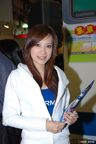 台北資訊月 show girl 08/12/06