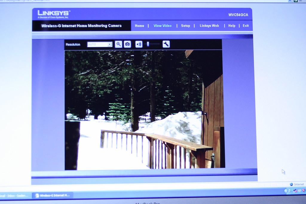 April 14 2009 - Nerding Out With A Web Cam