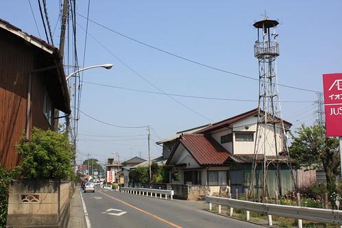 上谷ケ貫の火の見櫓