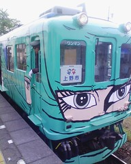 伊賀上野:忍者列車
