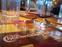 Lunch @ The Cheesecake Factory