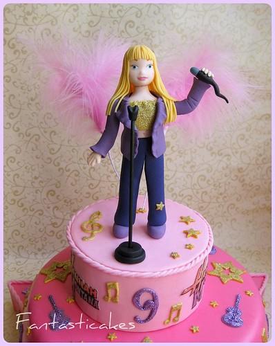 Topper torta Hannah Montana / Topper Hannah Montana cake