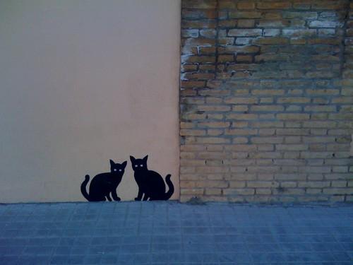 Gatos pintados