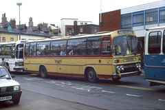 Forgotten Coach Station. (Renown) Tags: buses lancashire blackpool coaches supreme reliance aec plaxton fyldecoast coachstation singledecker yelloway yellowaymotorservices sbu301r supremeiii ah760 6u3zr yellowaysofrochdale colosseumcoachstation