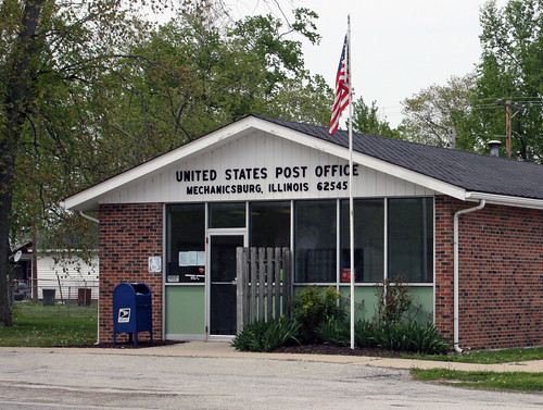 """Mechanicsburg IL - United States Post Office Zip Code 62545"""